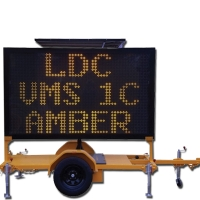 Amber VMS Board B & C Size Trailer-mounted