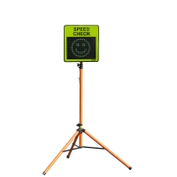 Portable Radar Speed Check Sign